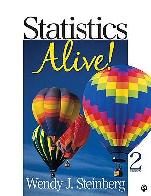Statistics Alive! By Steinberg, Wendy J.